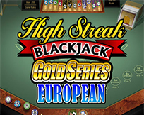 High Streak Euro Blackjack Gold